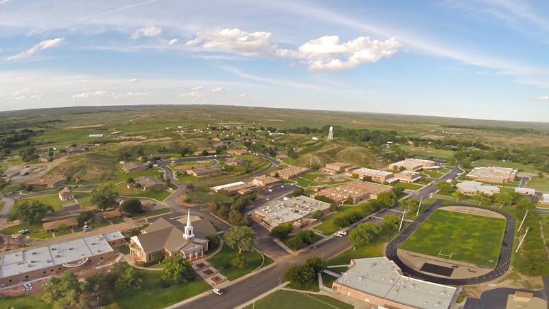 Boys Ranch aerial
