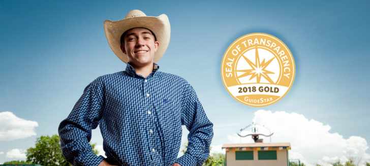 Boys Ranch earns recognition for transparency and commitment to public trust